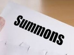 NOTICE ON THE LAST DATE TO SETTLE SUMMONSES FOR SESSION 2017/2018
