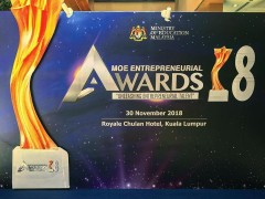 MINISTRY OF EDUCATION ENTREPRENEURIAL (MEA) AWARD 2018
