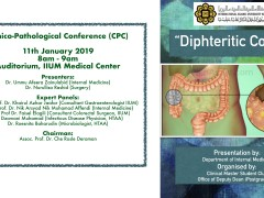 KOM CPC - Internal Medicine - Diphteritic Colitis