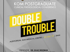 """""""Double Trouble"""" - KOM CPC by Dept. of Psychiatry"""