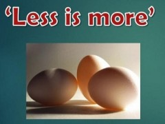 """""""Less is More"""" - KOM CPC BY DEPT OF O & G"""