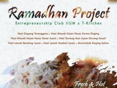 Ramadhan Project Entrepreneurship Club (EC) & T Kitchen