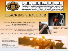 """Cracking Shoulder"" - KOM CPC by Dept. of Orthopaedic, Traumatology and Rehabilitation"