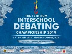 The 17th IIUm Interschool Debating Championship 2019