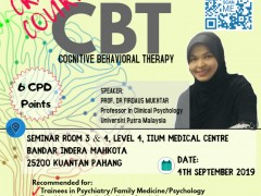 CRASH COURSE COGNITIVE BEHAVIORAL THERAPY (CBT) 2019