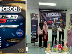 "KOD students for winning ""Second Place"" during Intervarsity Microbiology Quiz Challenge 2019"