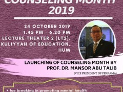 LAUNCHING OF COUNSELlNG MONTH 2019