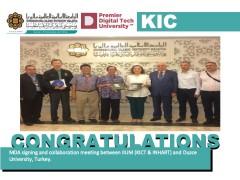 Congratulations - MOA Between IIUM & Duzce University, Turkey