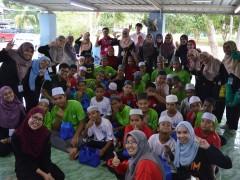 English camp with Madrasah Tahfiz Al Quran Silaturahim