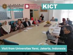 Visit from Universitas Yarsi, Jakarta, Indonesia.