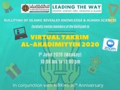 DEANERY ADDRESS AT KIRKHS TAKRIM AL-AKADIMIYYIN 2020
