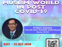 FUTURE OF MUSLIM WORLD IN POST COVID-19