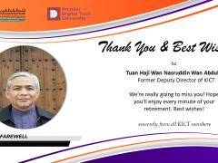 Thank You Tuan Haji Wan Nasruddin Wan Abdullah