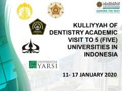 Kulliyyah of Dentistry Academic Visit to Universities in Indonesia
