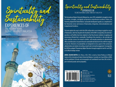 "CONGRATULATIONS ON THE BOOK ""SPIRITUALITY AND SUSTAINABILITY"