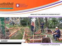 INSAF-KICT Collaborative Garden Project