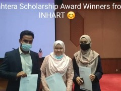 INHART Students who secured Sejahtera Scholarship 2020!