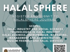 Call for Papers - Halal Sphere