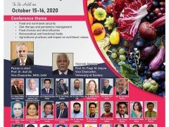 "International Conference on ""Plant Based Food; Potential for Food Security and Pandemic Management""​"