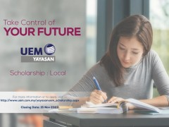 UEM GROUP SCHOLARSHIP (LOCAL) 2020 IS NOW OPEN!