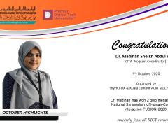 Congratulations Dr. Madihah Sheikh Abdul Aziz