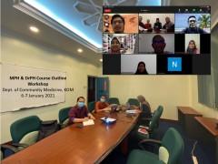 MPH & DrPH Course Outline Workshop