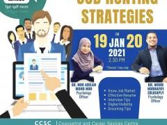 Job Hunting Strategies - Special Intervention Programme for IIUM Graduates 2020