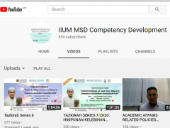 Youtube - IIUM MSD Competency Development