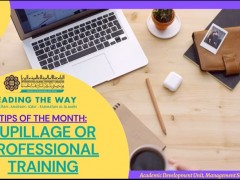 Tips of The Month : Pupillage or Professional Training