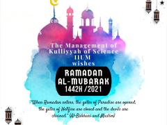 Ramadan Al-Mubarak 1442H