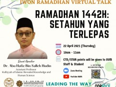 IWON RAMADHAN VIRTUAL TALK