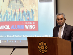 AIKOL ALUMNI WING IS A PLATFORM TO REALISE AIKOL'S VISION