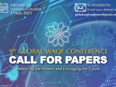9th Global Waqf Conference: Call For Papers
