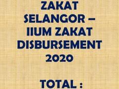 LEMBAGA ZAKAT SELANGOR – IIUM ZAKAT DISBURSEMENT 2020 (INFOGRAPHIC)