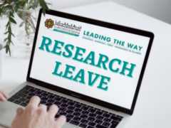 Tips of the Month : Research Leave