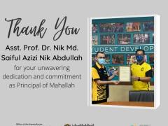 HEARTIEST APPRECIATION TO ASST. PROF. DR. NIK MD. SAIFUL AZIZI NIK ABDULLAH