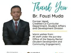 HEARTIEST APPRECIATION TO BR. FAUZI MUDA