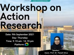Workshop on Action Research