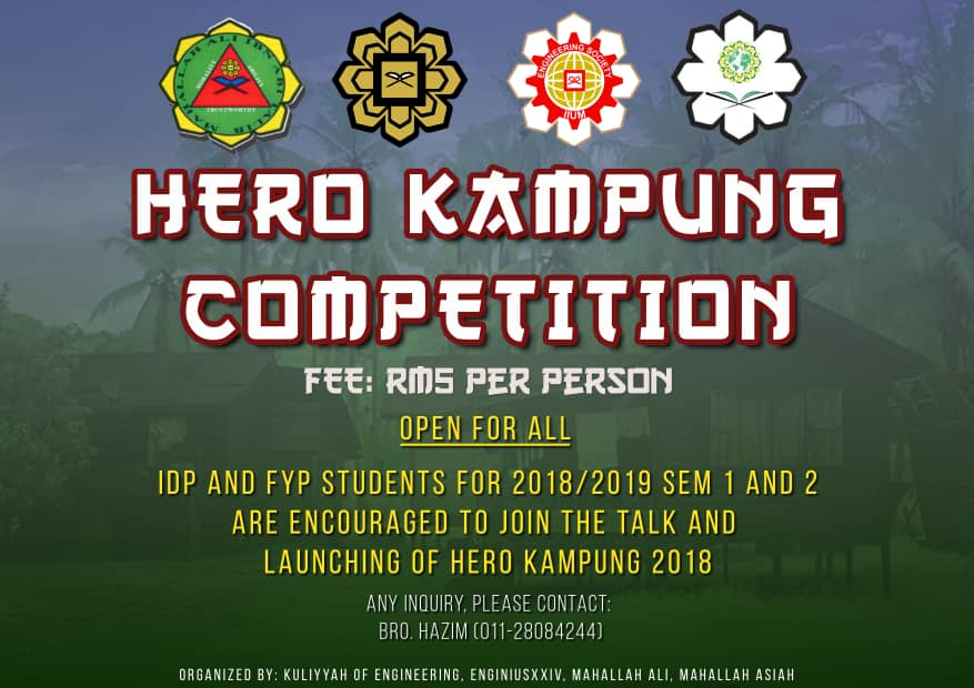 Hero Kampung Competition