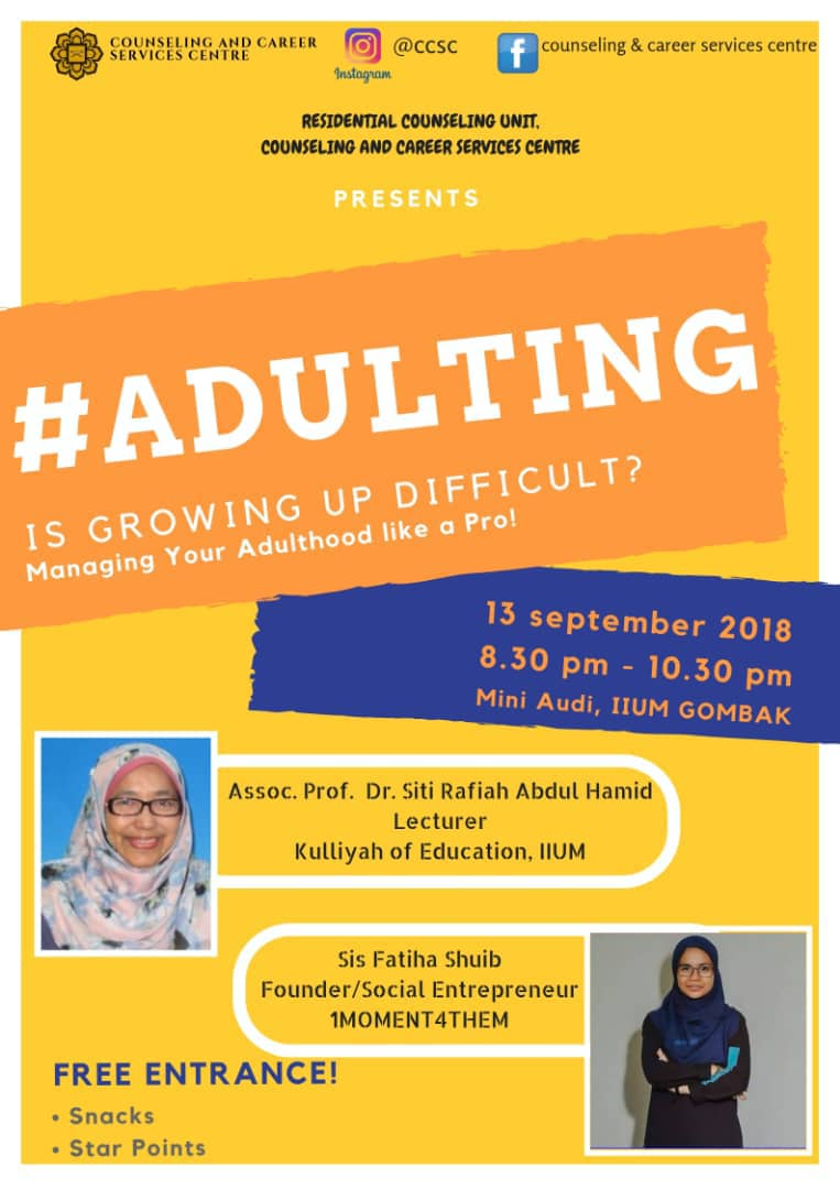 #ADULTING : IS GROWING UP DIFFICULT?