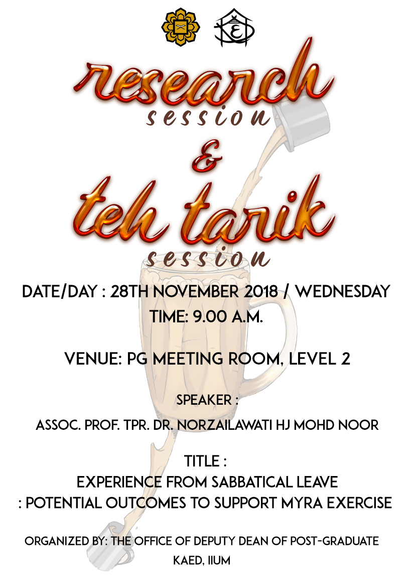 Research & Teh Tarik Session