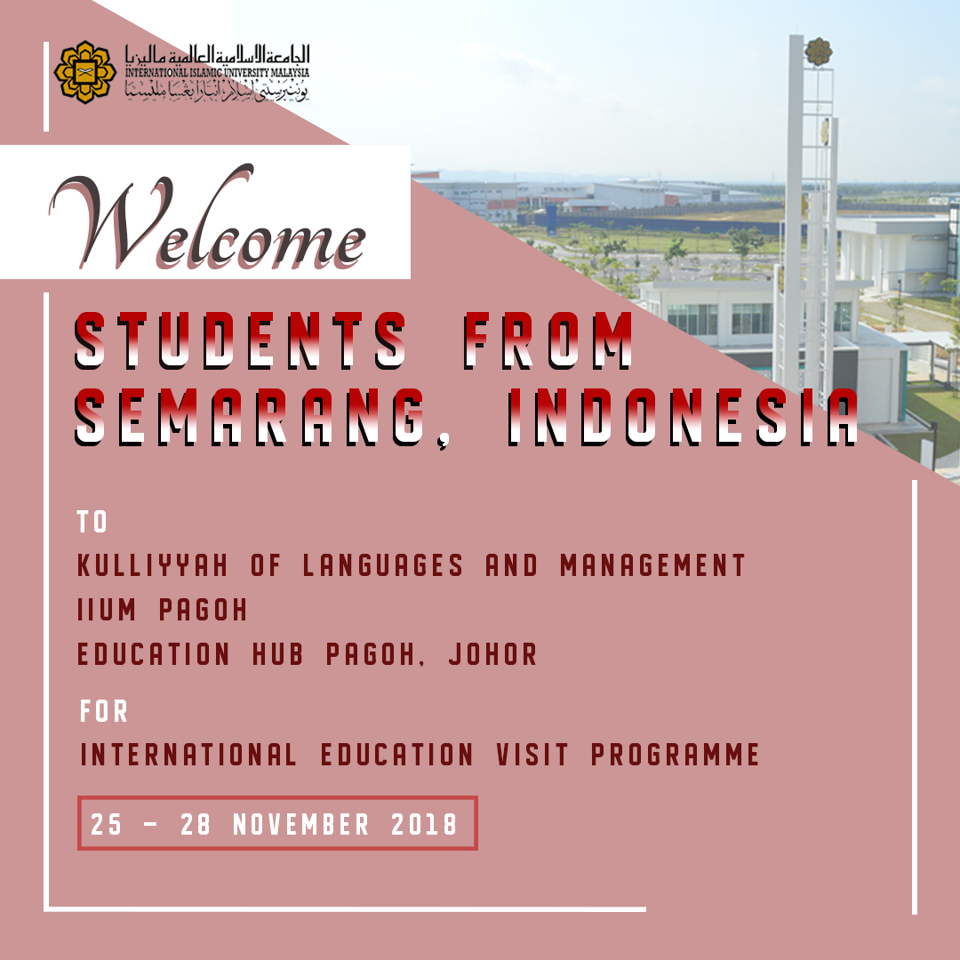 Internarional Education Visit Program from Indonesia