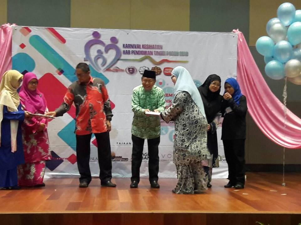 """IEF Booth  at  """"Karnival Kesihatan Hub Pendidikan Pagoh"""""""