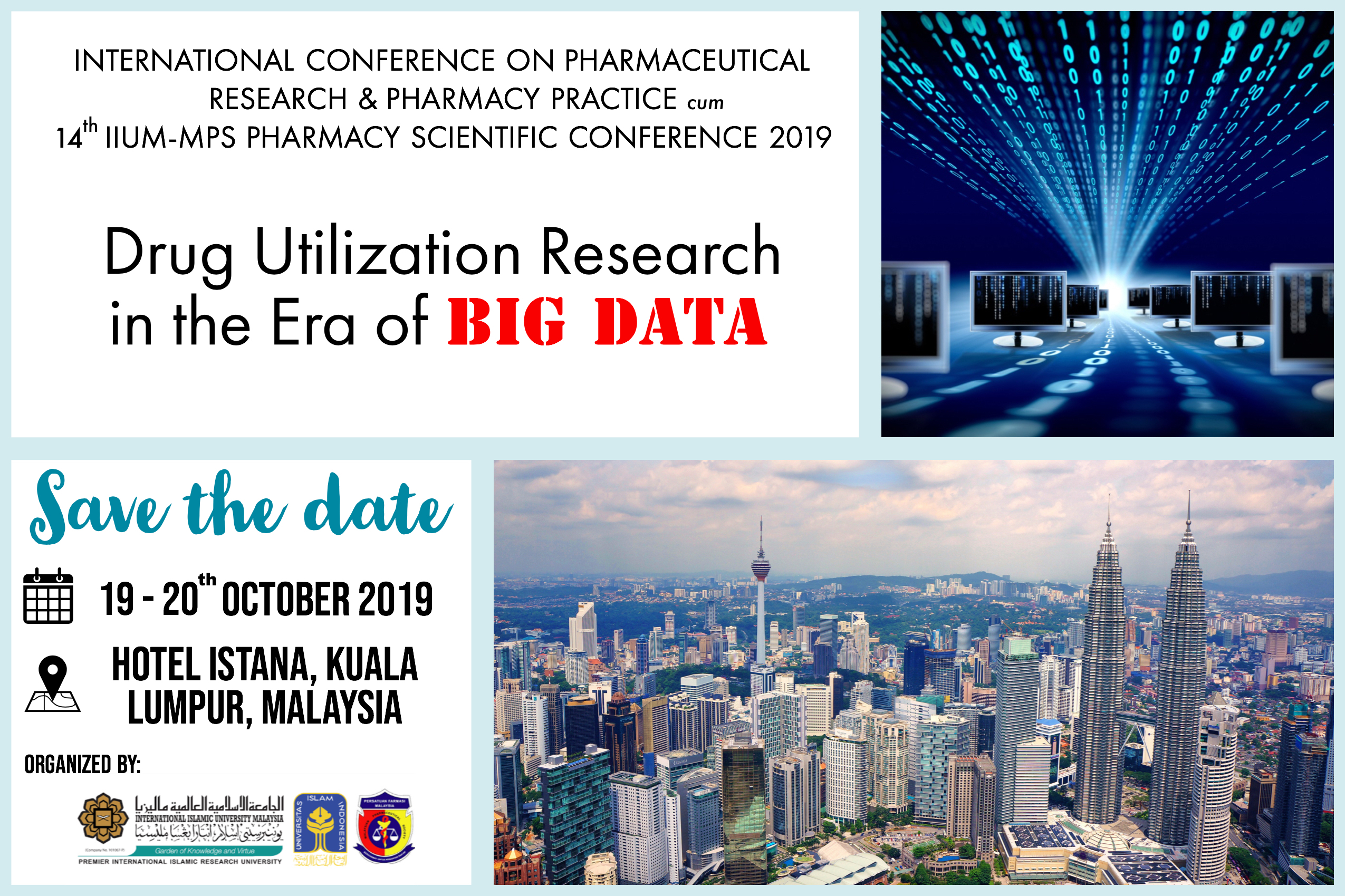 The International Conference on Pharmaceutical Research and Pharmacy Practice (ICPRP2019)