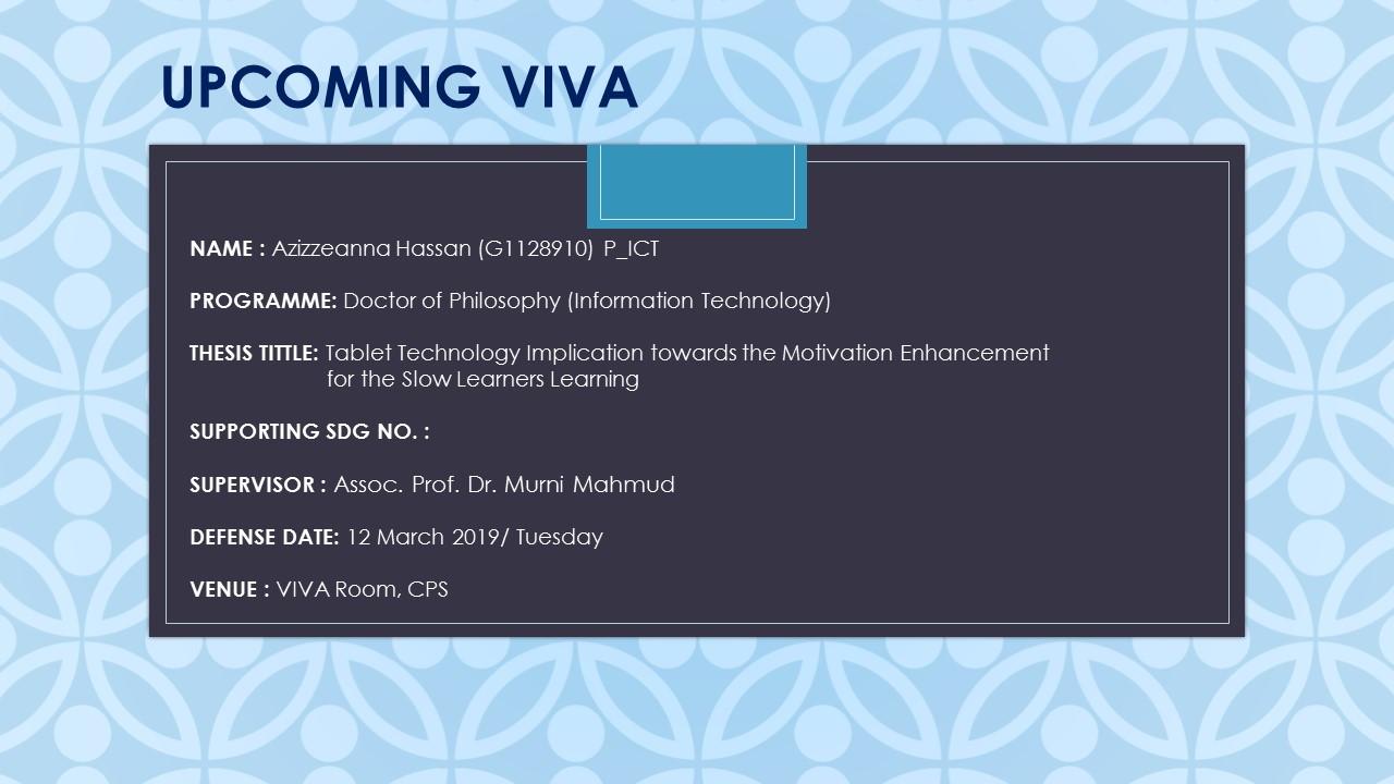 VIVA - AZIZZEANNA BT HASSAN (G1128910) P_ICT