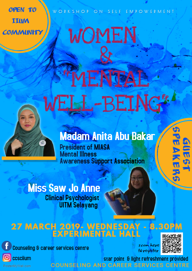 "Workshop On Self-Empowerment ""Women and Mental Well Being"""