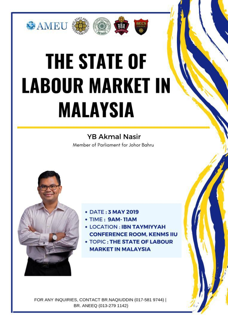 The State of the Labour Market in Malaysia