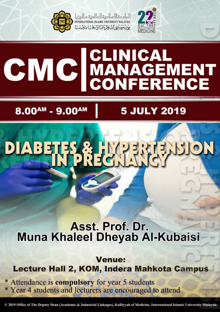 CMC - Diabetes & Hypertension in Pregnancy