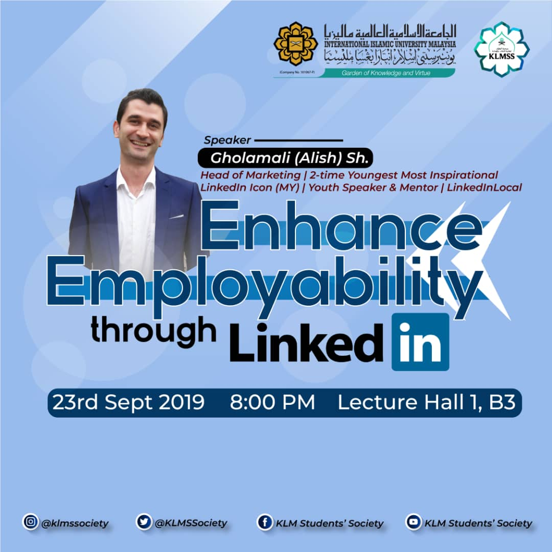 Enhance employability through Linkedin