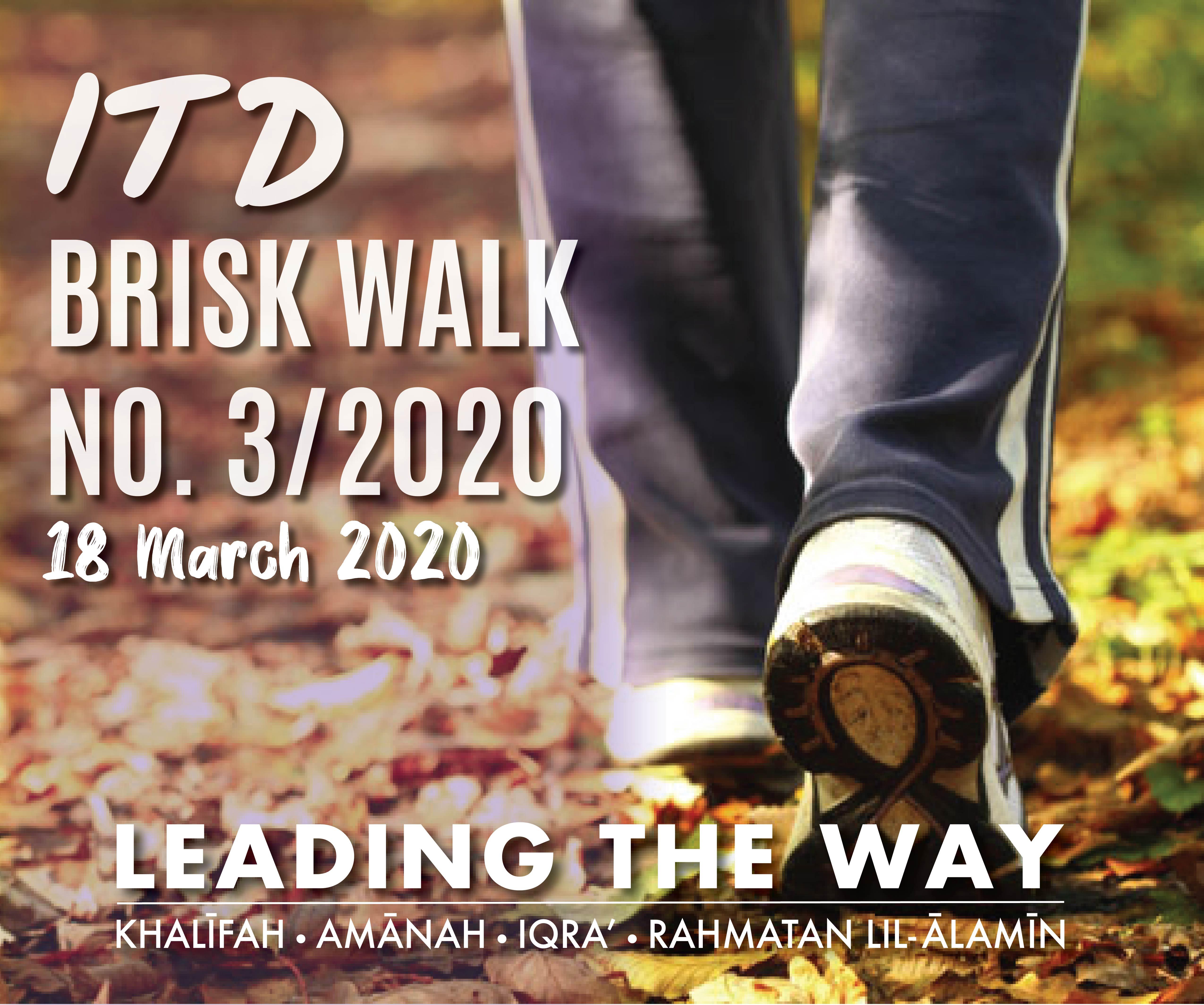 ITD Brisk Walk No.3/2020